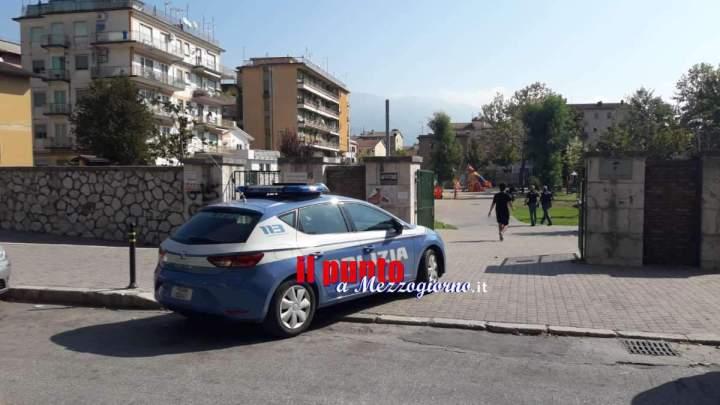 Lite tra bulli e mamme al parco Badel Powell di Cassino, interviene la polizia