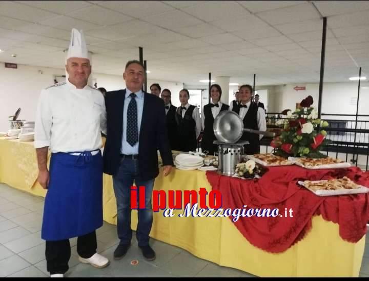 Cassino, gli alunni IIS San Benedetto impegnati all'Università per un super buffet