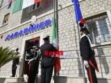 Il Generale Nistri inaugura la nuova sede della Compagnia Carabinieri di Cassino, taglia il nastro la vedova del capitano Grimaldi