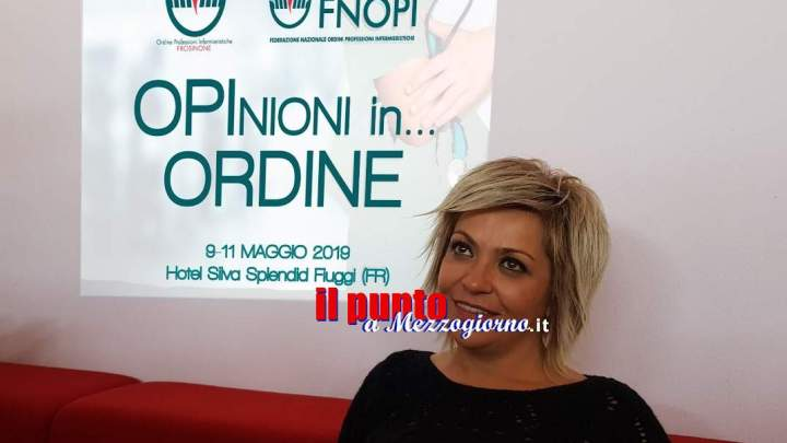"""L'ordine infermieri di Frosinone rappresenterà l'Italia alla conferenza internazionale """"Nurse education"""" a Barcellona"""""""