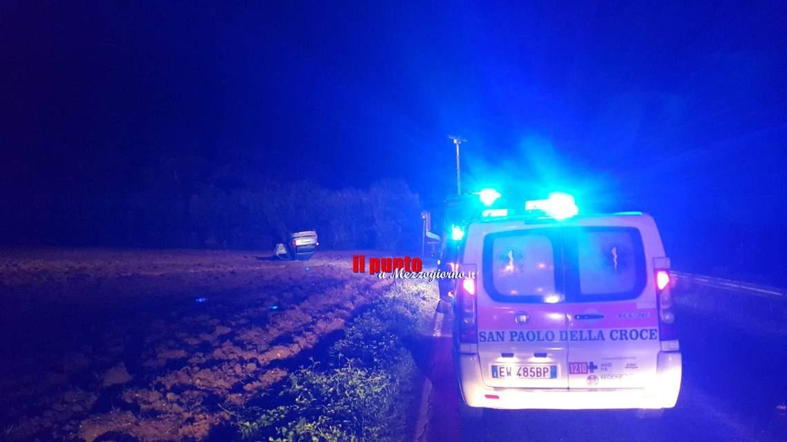 Incidente stradale a Pontecorvo, una 18enne ferita gravemente