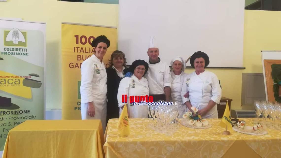 Cassino, Pranzo a km0 con gli alunni dell'istituto alberghiero e Coldiretti