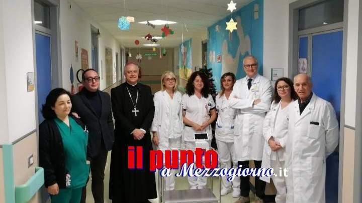 Cassino: Cosilam e Abbazia di Montecassino. Consegnato al reparto Pediatria il macchinario Cube