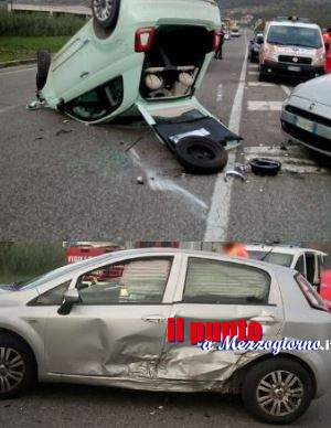 Ausonia, scontro tra due auto sulla superstrada Cassino Formia, donna in gravi condizioni