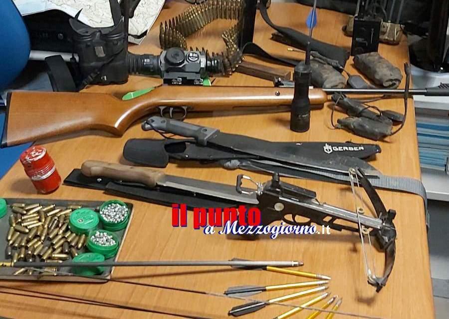 Armi e droga a Pescosolido, arrestato 47enne