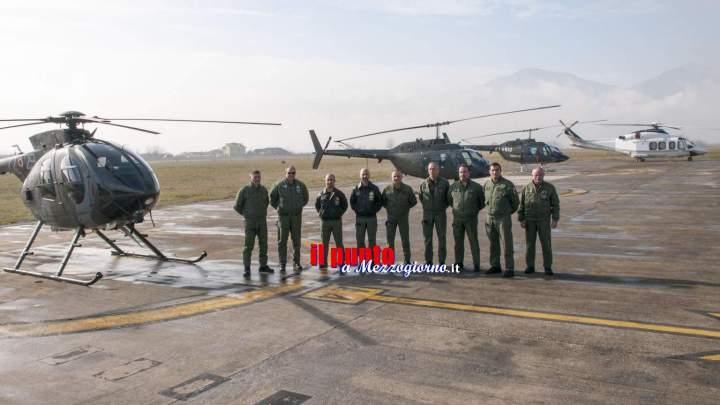 Al Moscardini di Frosinone inizia l'addestramento di 11 piloti dell'Esercito