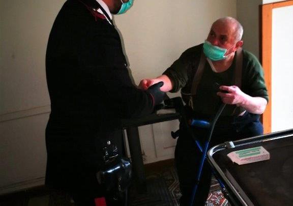Continua l'assistenza alle persone in difficoltà da parte dei carabinieri di Isernia
