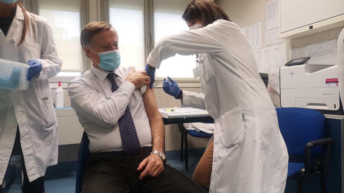 Iniziate le prime vaccinazioni a Rieti e Viterbo