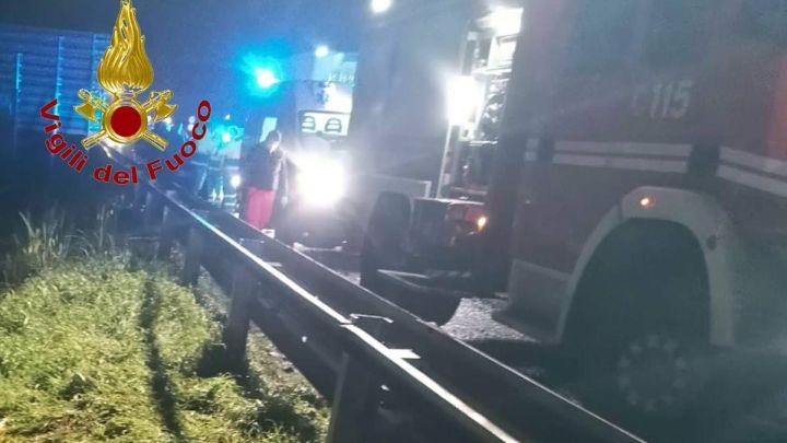 Incidente stradale sulla sulla strada statale Quater, muore centauro a Castel Volturno