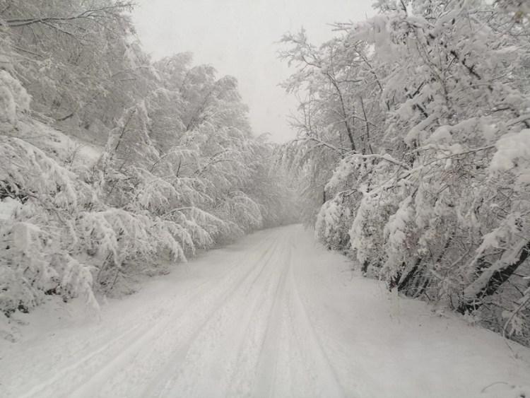 La neve a Picinisco