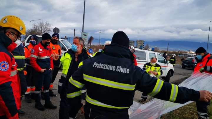 Rieti – Esondazione Turano: in campo 21 squadre di Protezione Civile