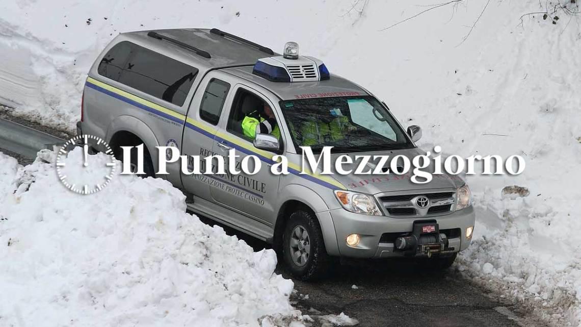 Maltempo, Protezione Civile Lazio: allerta gialla per neve da oggi pomeriggio e per 36 ore