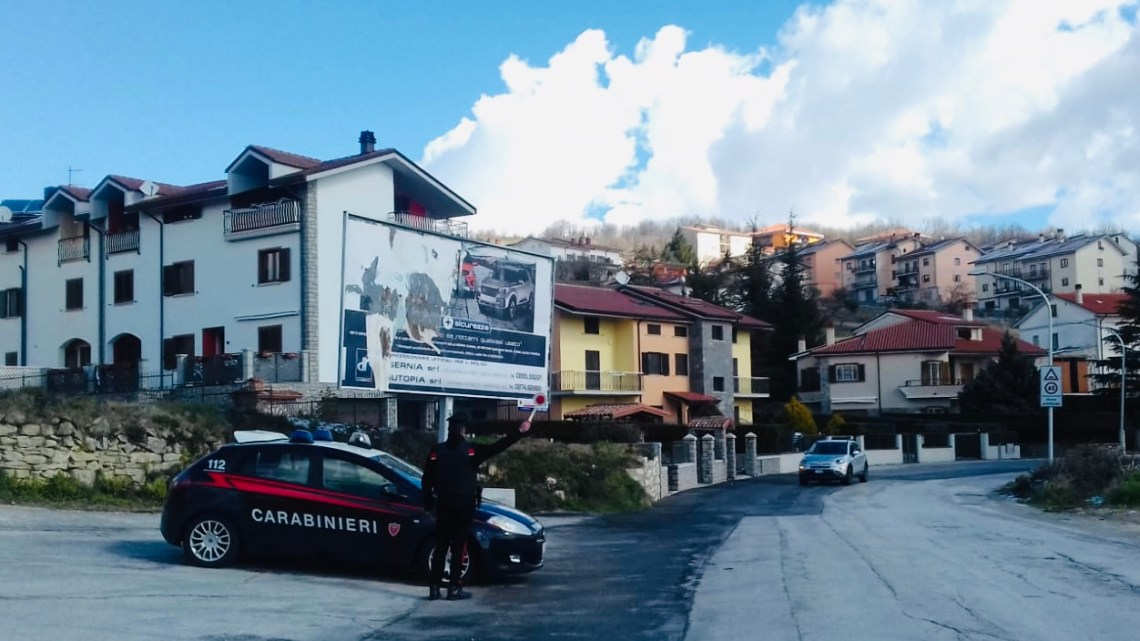 Altomolise – Carabinieri sorprendono positivi al Covid-19 in violazione della quarantena
