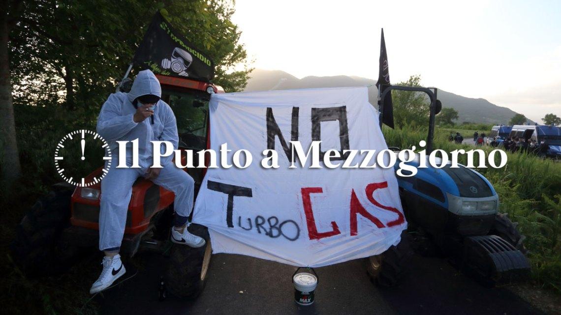 """A Presenzano per dire """"No"""" alla centrale turbogas"""