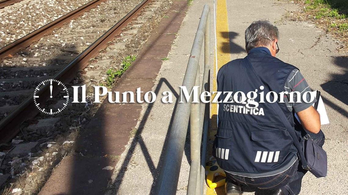 Frosinone – Donna investita da un treno in transito