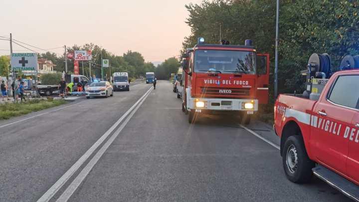 Incidente stradale sulla Cassino Formia, due feriti