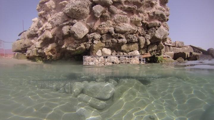 LECCE. Molo di Adriano. Terminata la prima fase, si progetta il restauro sott'acqua del patrimonio archeologico sommerso
