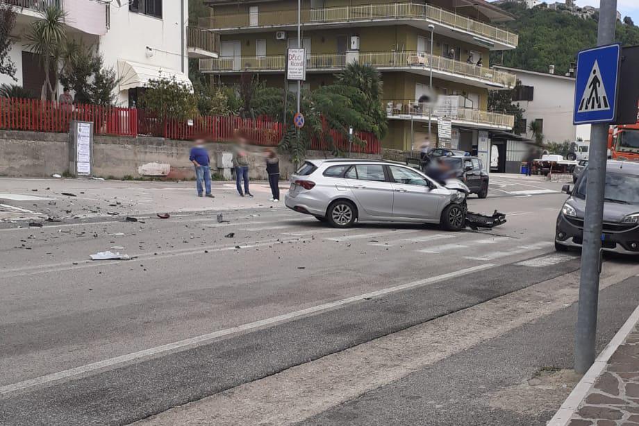 Incidente stradale sulla superstrada Cassino Formia a Sant'Antonio Abbate