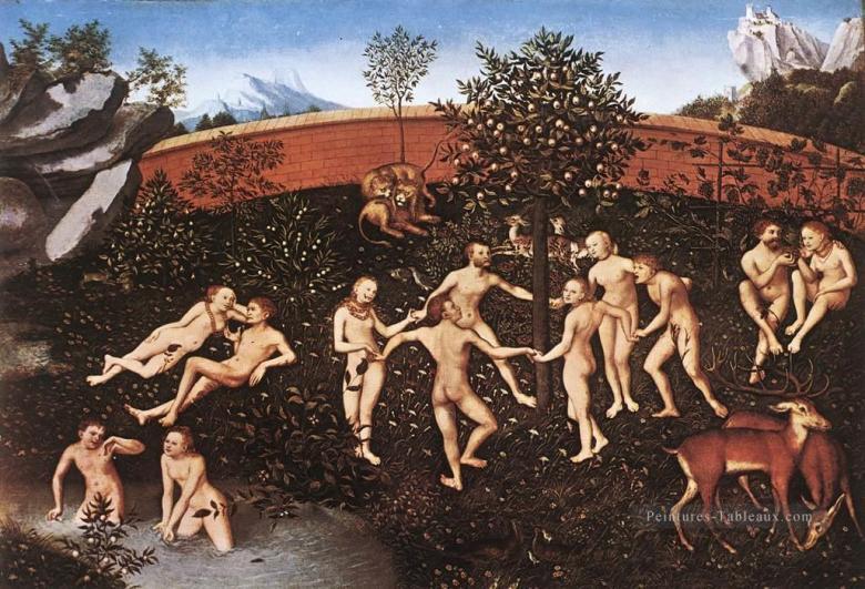 L'età dell'oro di Lucas Cranach il Vecchio (1530)