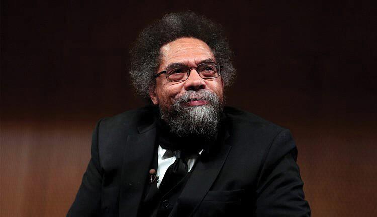 Il filosofo americano Cornel West