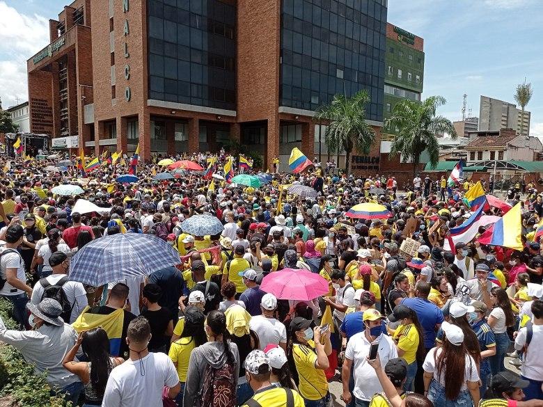 Proteste in Colombia nel Maggio 2021