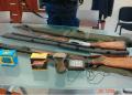 Sequestro armi, munizioni e strumenti illeciti - foto Corpo Polizia Provinciale Cosenza