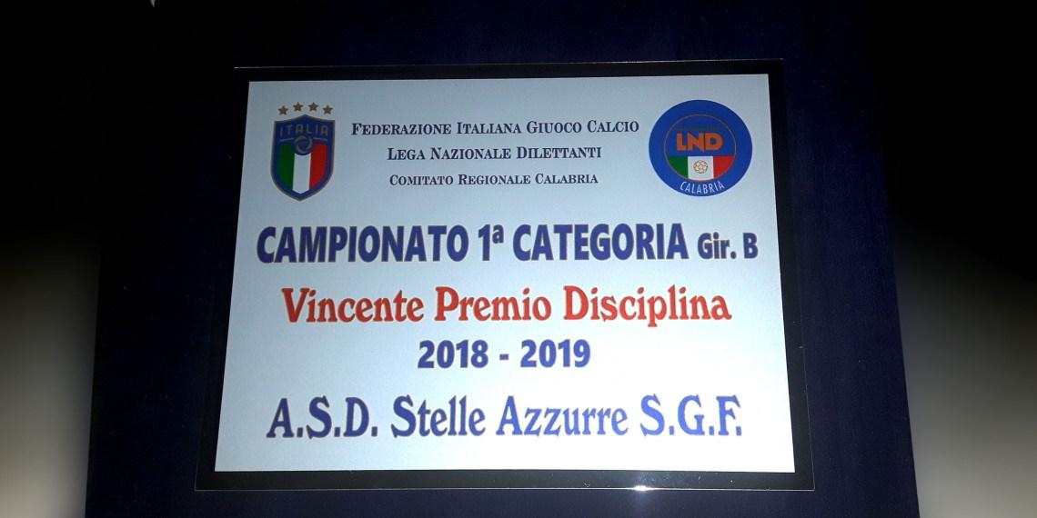 Premio Disciplina Stelle Azzurre