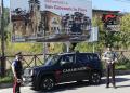 I Carabinieri di San Giovanni in Fiore durante un servizio di controllo
