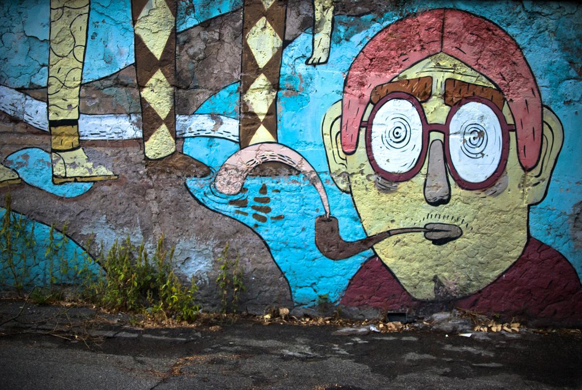 Street art di Roma - Agostino Iacurci