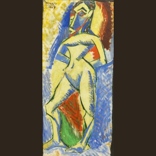 Femme Nue (1907) - Pablo Picasso