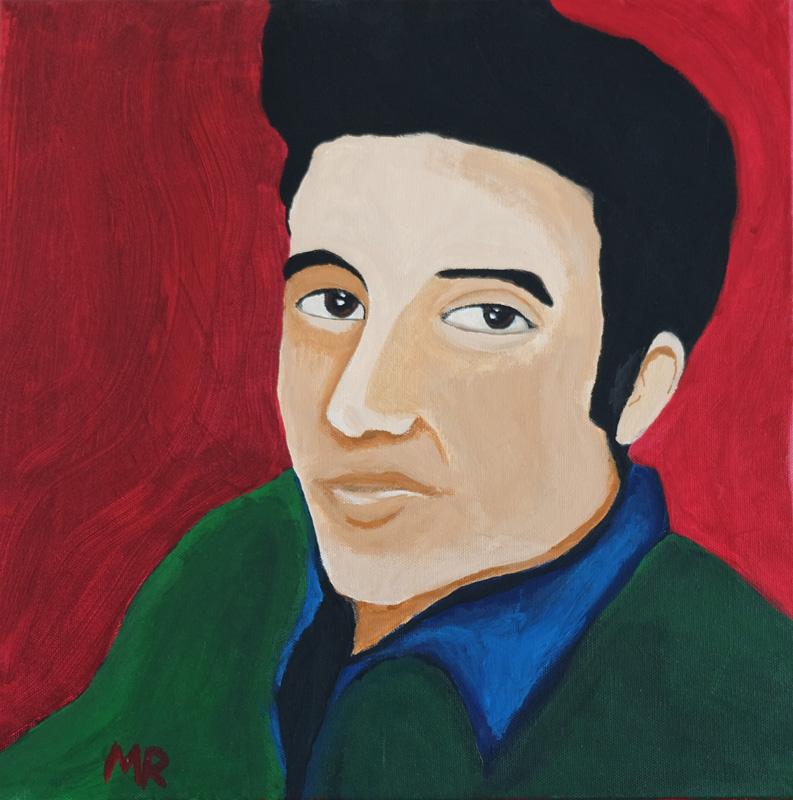 Elvis Presley - Mattia Recupero - Acrilico su tela 40x40