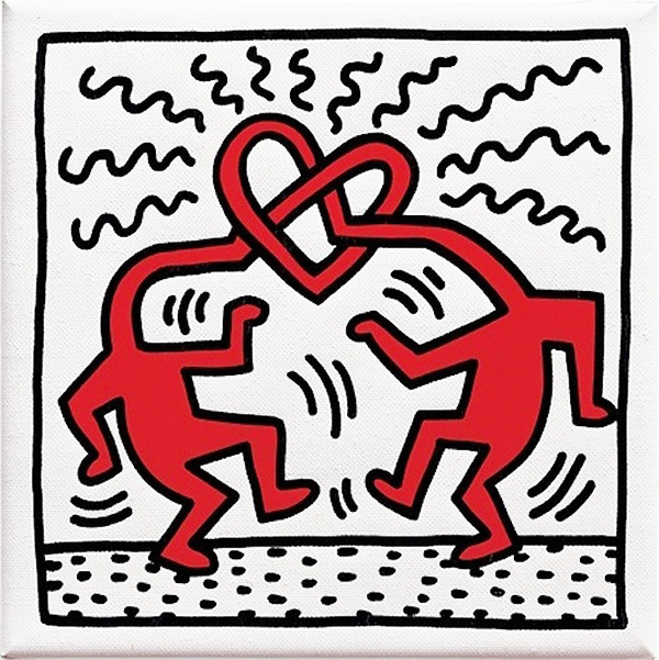 Keith Haring - Amore