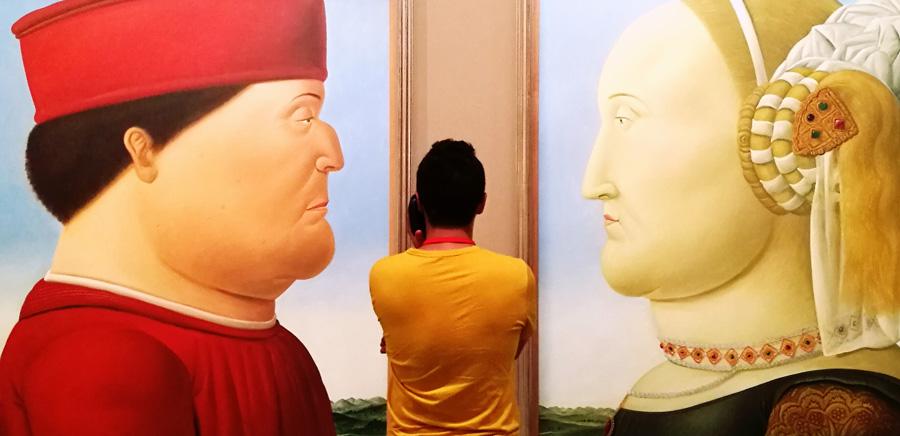 Botero in mostra: vita, opere e figure grasse - Quadri, fotografie ...