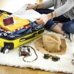 海外旅行のパッキングの例