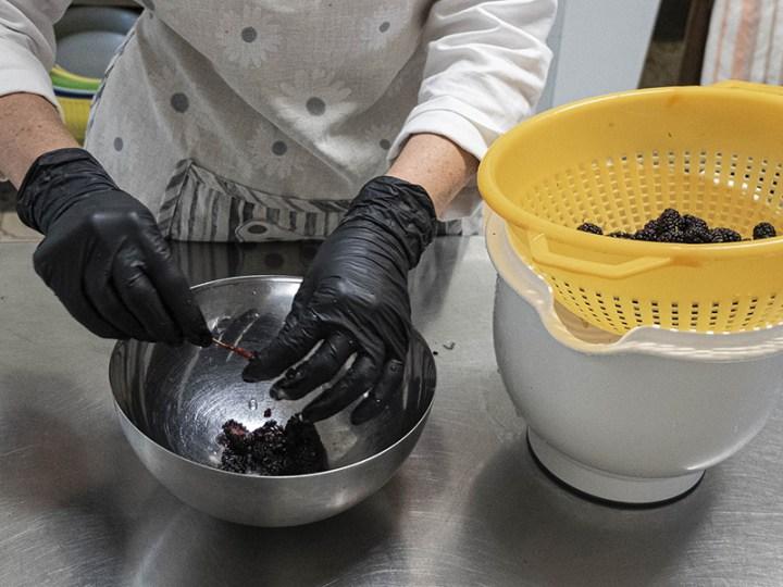 Homemade - marmellata gelsi