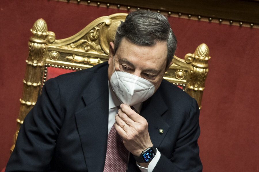 """Passa la fiducia al Senato, 262 """"sì"""" al governo Draghi"""