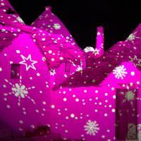 «Christmas lights», le luci sui trulli di Alberobello fino al 10 febbraio