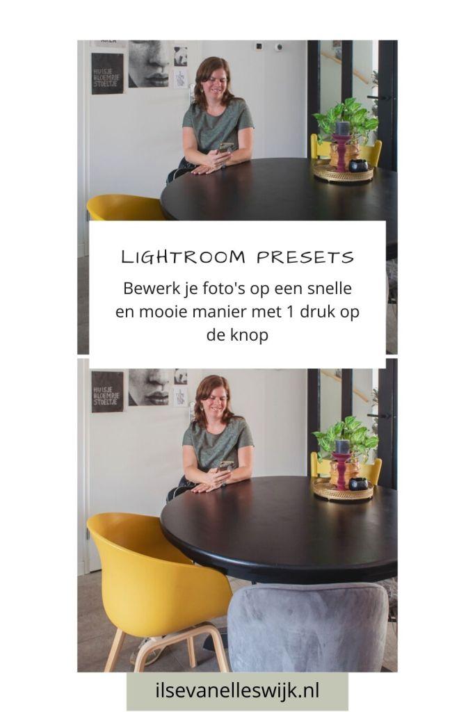 snelle mooie manier fotos bewerken lightroom preset
