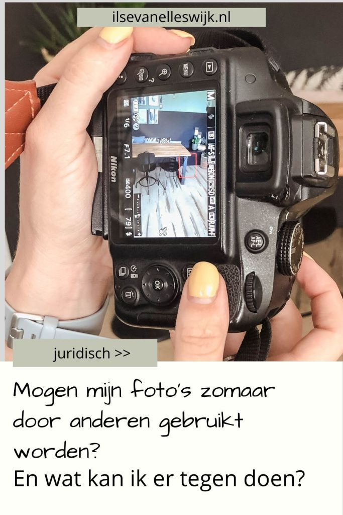 foto's bloggers auteursrecht