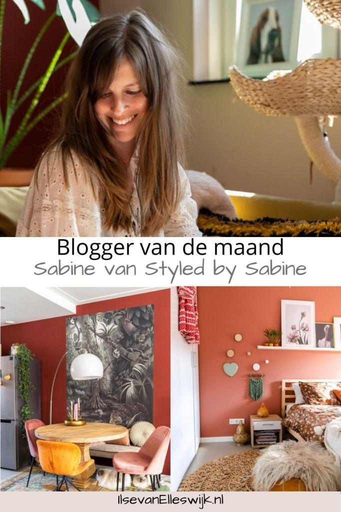 blogger van de maand styled by sabine