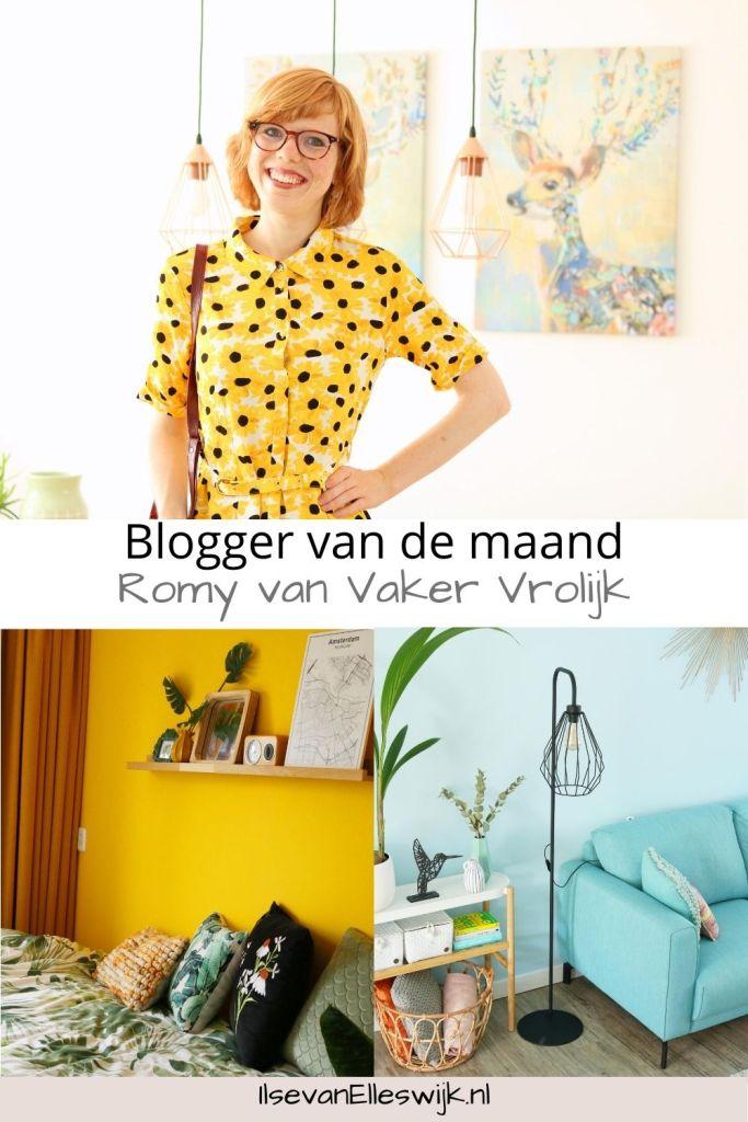 blogger Romy van vaker vrolijk