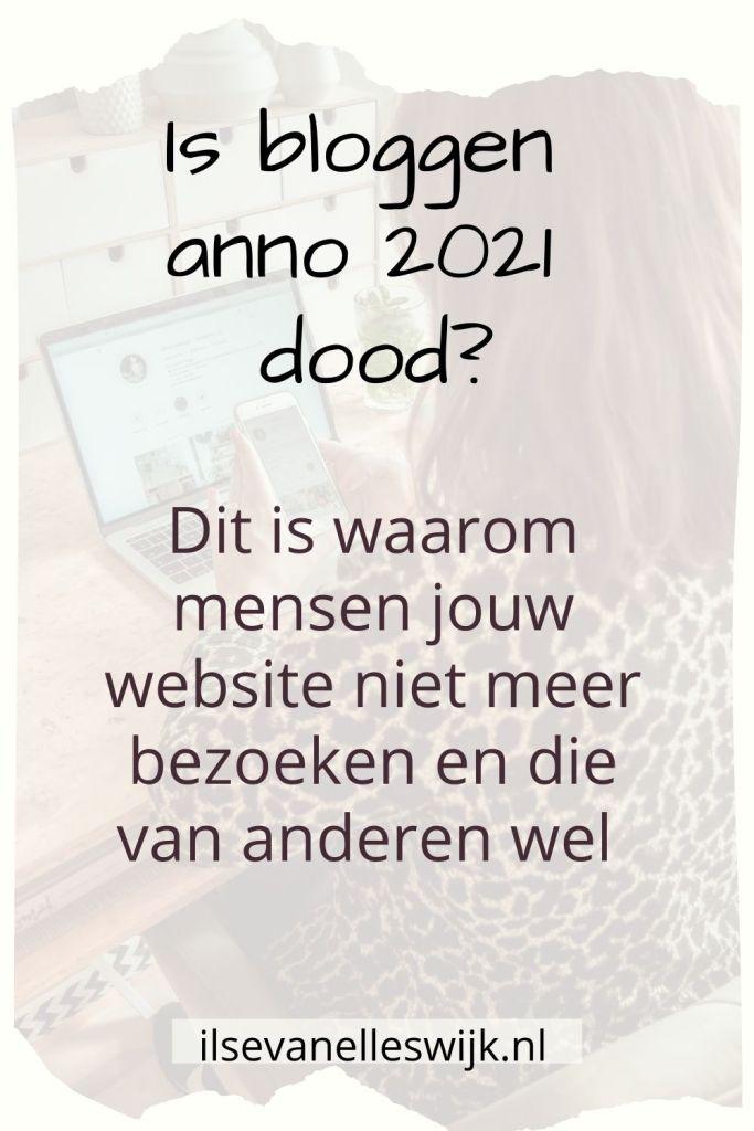 bloggen 2021 website bezoekers