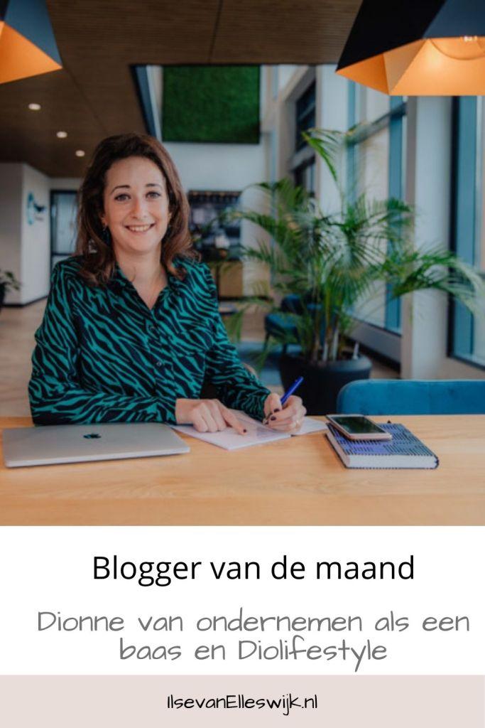 blogger dionne ondernemen als een baas