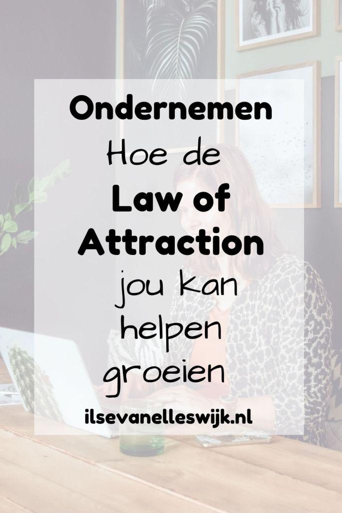 groeien met de law of attraction