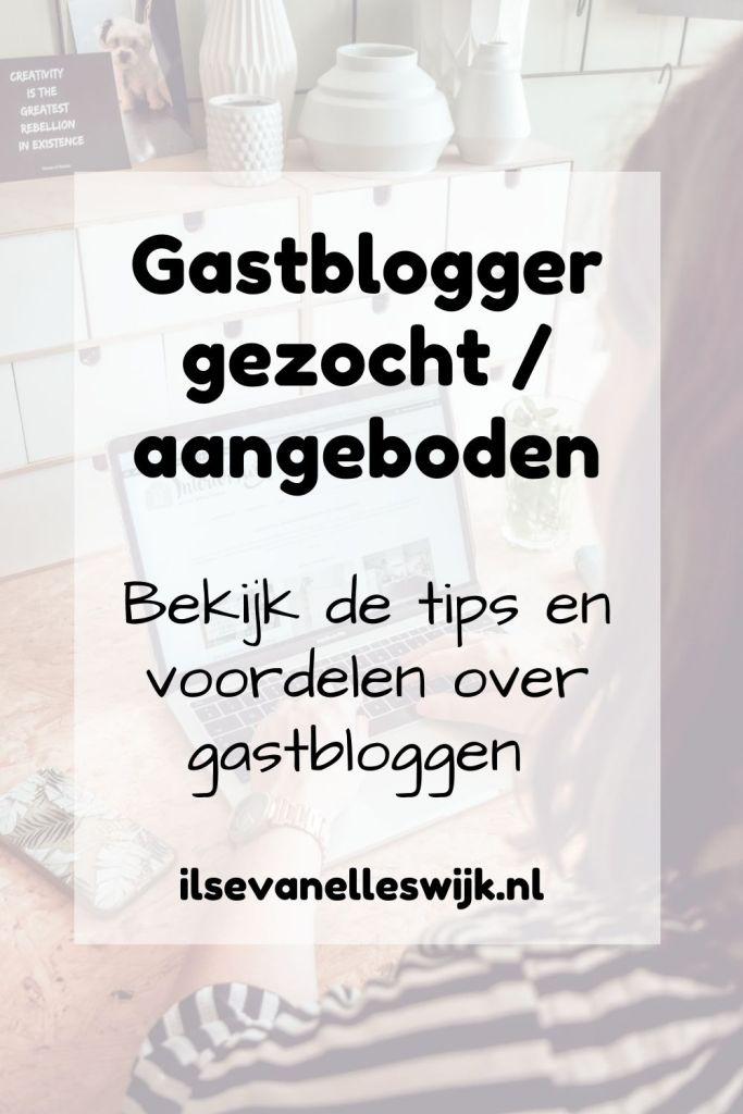 gastblogger gezocht aangeboden en tips en voordelen van gastbloggen