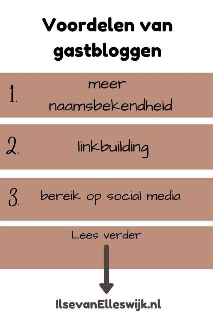 voordelen van gastbloggen