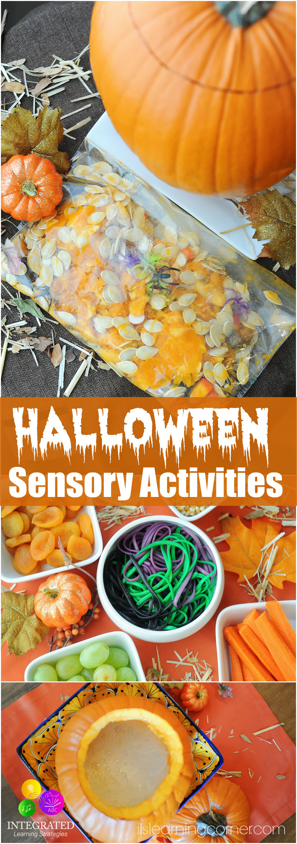Sensory Activities Ghoulish Halloween Sensory