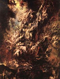 Peter Paul Rubens, La caduta degli angeli ribelli - 1620, Alte Pinakothek, Monaco di Baviera