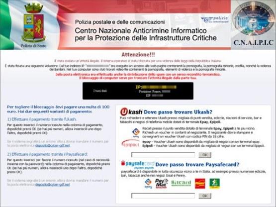 virus poliziapostale 0912 01 | GrecTech