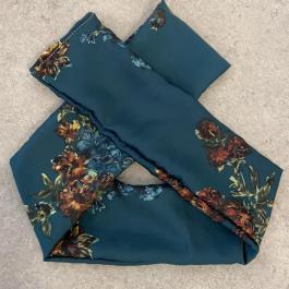 Fascia verde a fiorellini bimba